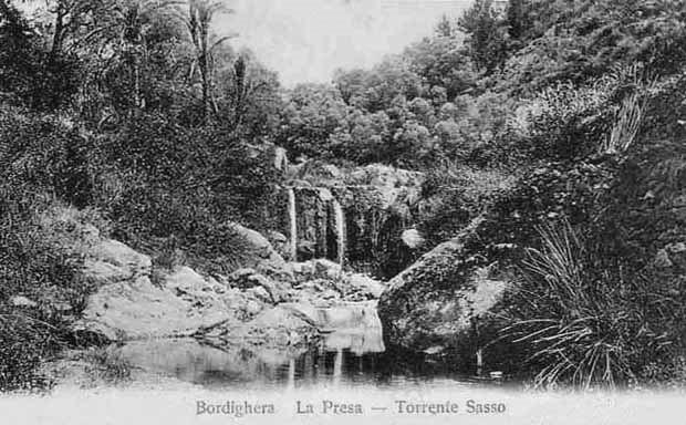 Bordighera La presa Torrente Sasso