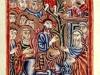 16 British library armenian entry in Jerusalem                                             Description:  The entry of Christ into Jerusalem on Palm Sunday. Paper manuscript Title of Work:  The Four Gospels. Author:  Karapet (scribe) Illustrator:  - Production:  Akhlat, 1542 Language/Script:  Armenian / Bolorgir