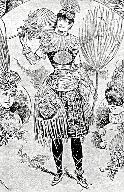 L Winter Palm-Garten Bordighera Kostum-Artikel