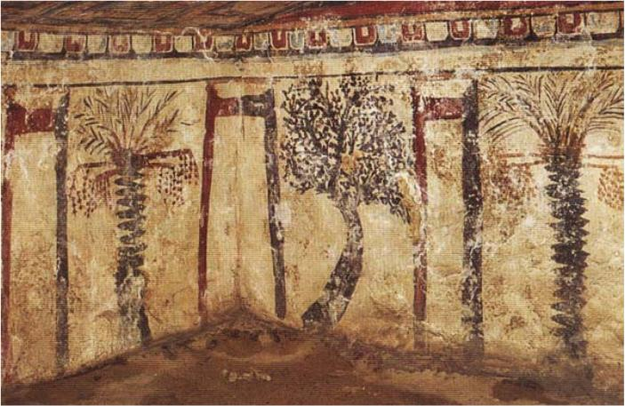 Egypte fresque monastique