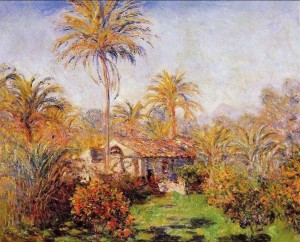 Monet Small-Country-Farm-In-Bordighera